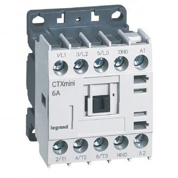 3-pole mini contactors CTX³ - 6 A (AC3) 230 V~ - 1 NO - screw terminals