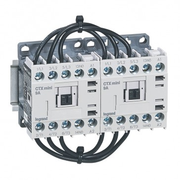3-pole mini contactors CTX³ - 9 A (AC3) 230 V~ - 1 NO - screw terminals