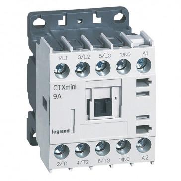3-pole mini contactors CTX³ - 9 A (AC3) - 415 V~ - 1 NO - screw terminals