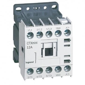 3-pole mini contactors CTX³ - 12 A (AC3) - 24 V= - 1 NO - screw terminals