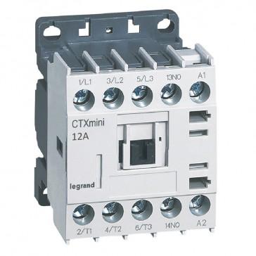 3-pole mini contactors CTX³ - 12 A (AC3) - 415 V~ - 1 NO - screw terminals