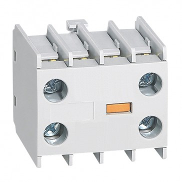 Add on auxiliary block for mini contactors CTX³ - 2 NC - front mounting