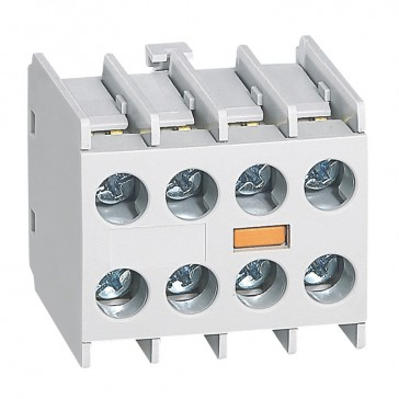 Add on auxiliary block for mini contactors CTX³ - 4 NO - front mounting