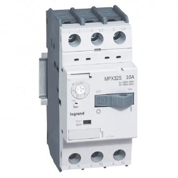 MPCB MPX³ 32S - thermal magnetic - motor protection - 3P - 10 A - 50 kA