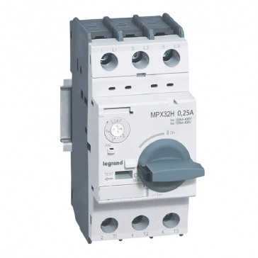 MPCB MPX³ 32H - thermal magnetic - motor protection - 3P - 0.25 A - 100 kA