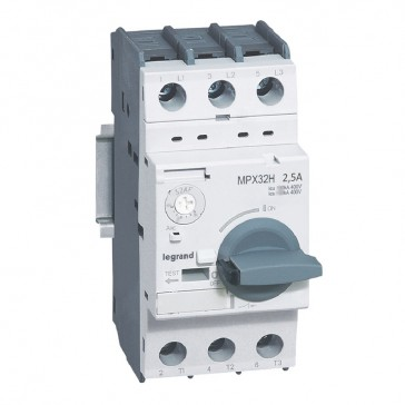 MPCB MPX³ 32H - thermal magnetic - motor protection - 3P - 2.5 A - 100 kA