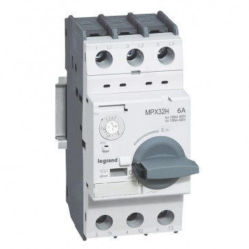 MPCB MPX³ 32H - thermal magnetic - motor protection - 3P - 6 A - 100 kA