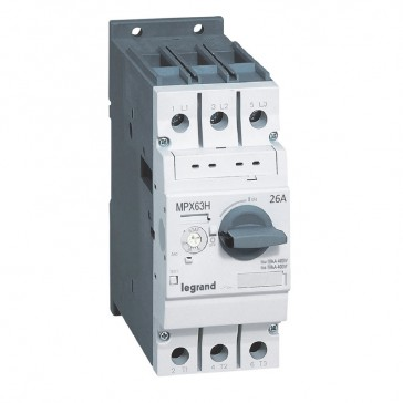 MPCB MPX³ 63H - thermal magnetic - motor protection - 3P - 26 A - 50 kA