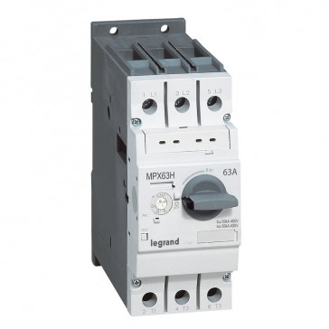 MPCB MPX³ 63H - thermal magnetic - motor protection - 3P - 63 A - 50 kA