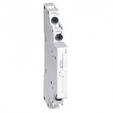 Auxiliary contacts MPX³ - 2-pole - side mounting - 2 NC
