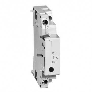 Undervoltage with 2 NO auxiliary contacts- 220-230 V - 50 Hz / 240-260 V - 60 Hz