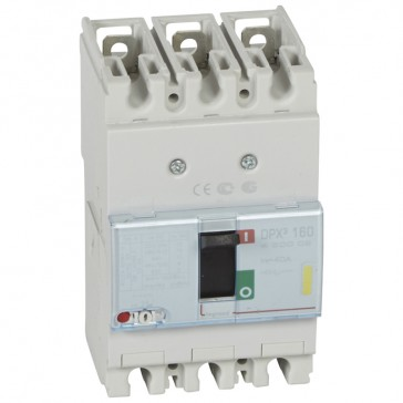 MCCB thermal magnetic - DPX³ 160 - Icu 16 kA 400 V~ - 3P - 40 A