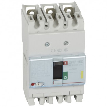 MCCB thermal magnetic - DPX³ 160 - Icu 16 kA 400 V~ - 3P - 100 A