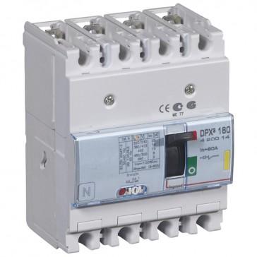 MCCB thermal magnetic - DPX³ 160 - Icu 16 kA 400 V~ - 4P - 80 A