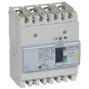 MCCB thermal magnetic - DPX³ 160 - Icu 16 kA 400 V~ - 4P - 100 A