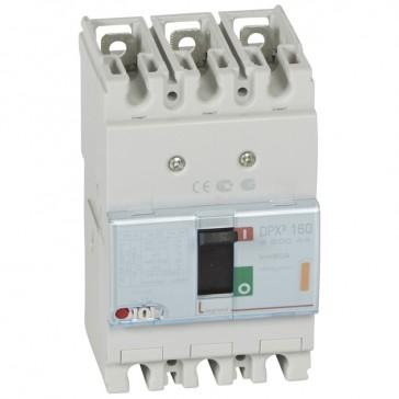 MCCB thermal magnetic - DPX³ 160 - Icu 25 kA 400 V~ - 3P - 80 A