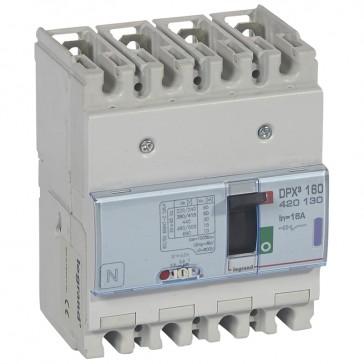 MCCB thermal magnetic - DPX³ 160 - Icu 50 kA 400 V~ - 4P - 16 A
