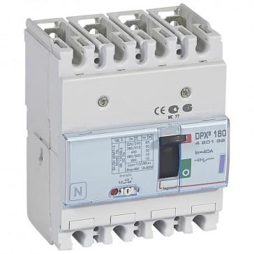 MCCB thermal magnetic - DPX³ 160 - Icu 50 kA 400 V~ - 4P - 40 A