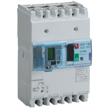 MCCB thermal magnetic with e.l.c.bs - DPX³ 160 - Icu 50 kA 400 V~ - 4P - 160 A