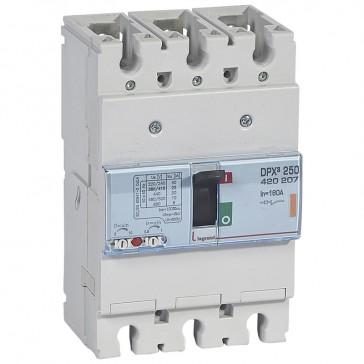 MCCB thermal magnetic - DPX³ 250 - Icu 25 kA 400 V~ - 3P - 160 A