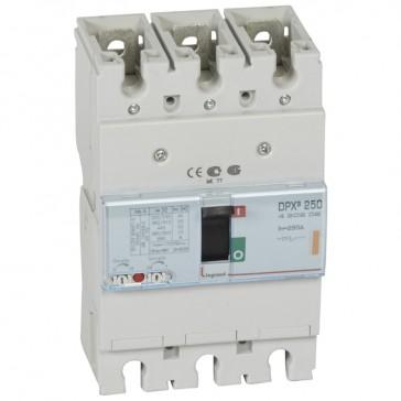 MCCB thermal magnetic - DPX³ 250 - Icu 25 kA 400 V~ - 3P - 250 A