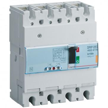 MCCB thermal magnetic - DPX³ 250 - Icu 25 kA 400 V~ - 4P - 100 A