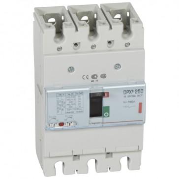 MCCB thermal magnetic - DPX³ 250 - Icu 36 kA 400 V~ - 3P - 160 A
