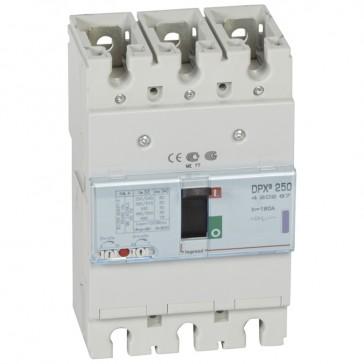 MCCB thermal magnetic - DPX³ 250 - Icu 50 kA 400 V~ - 3P - 160 A