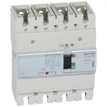 MCCB thermal magnetic - DPX³ 250 - Icu 50 kA 400 V~ - 4P - 250 A