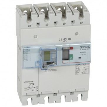 Trip-free switch - DPX³-I 250 - 4P with e.l.c.bs - 250 A