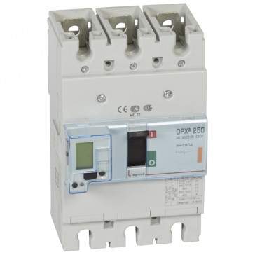 MCCB electronic release - DPX³ 250 - Icu 25 kA 400 V~ - 3P - 160 A
