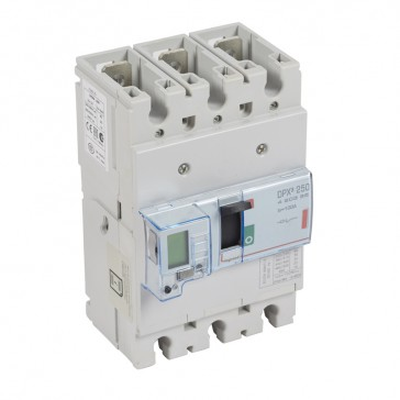 MCCB electronic release - DPX³ 250 - Icu 36 kA 400 V~ - 3P - 100 A