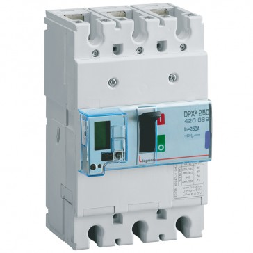 MCCB electronic release Sg - DPX³ 250 - Icu 50 kA 400 V~ - 3P - 250 A