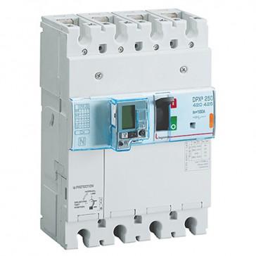 MCCB electronic + energy metering + e.l.c.bs - DPX³ 250 - Icu 25 kA - 4P - 100 A