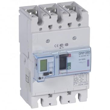 MCCB electronic release Sg - DPX³ 250 - Icu 50 kA 400 V~ - 3P - 160 A
