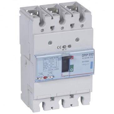 MCCB thermal magnetic - DPX³ 250 - Icu 70 kA 400 V~ - 3P - 100 A
