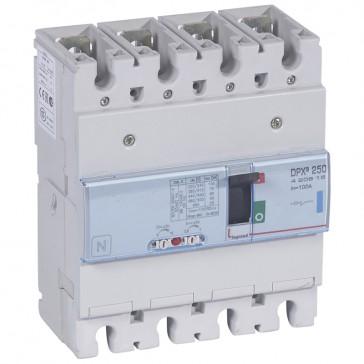 MCCB thermal magnetic - DPX³ 250 - Icu 70 kA 400 V~ - 4P - 100 A