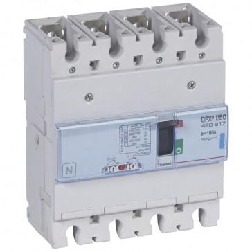 MCCB thermal magnetic - DPX³ 250 - Icu 70 kA 400 V~ - 4P - 160 A