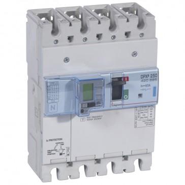 MCCB electronic + energy metering + e.l.c.bs - DPX³ 250 - Icu 70 kA - 4P - 40 A