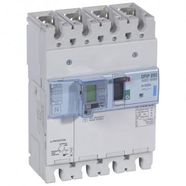 MCCB electronic + energy metering + e.l.c.bs - DPX³ 250 - Icu 70 kA - 4P - 250 A