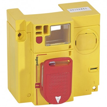 Rotary handle - direct on electronic DPC³ - for emergency use