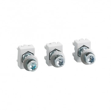 Extended front terminals (x 3) - for DPX³ 160