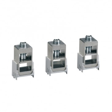 Cage terminals (x 3) - for DPX³ 250