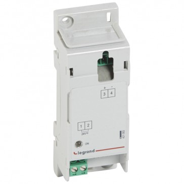 Auxiliary power supply for DPX³ - 24 V~/= - 250 mA - 2 modules