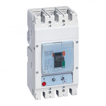 MCCB DPX³ 630 - thermal magnetic - 3P - Icu 36 kA (400 V~) - In 500 A