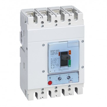 MCCB DPX³ 630 - thermal magnetic - 4P - Icu 36 kA (400 V~) - In 400 A