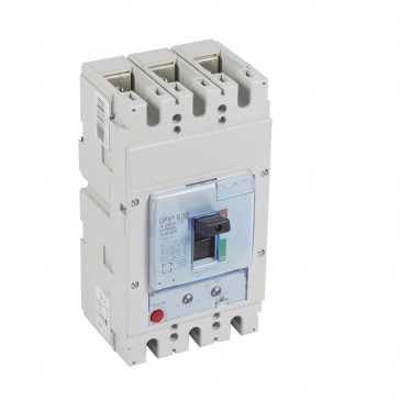 MCCB DPX³ 630 - thermal magnetic - 3P - Icu 50 kA (400 V~) - In 500 A