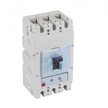 MCCB DPX³ 630 - thermal magnetic - 3P - Icu 50 kA (400 V~) - In 630 A