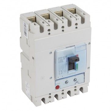 MCCB DPX³ 630 - thermal magnetic - 4P - Icu 50 kA (400 V~) - In 630 A