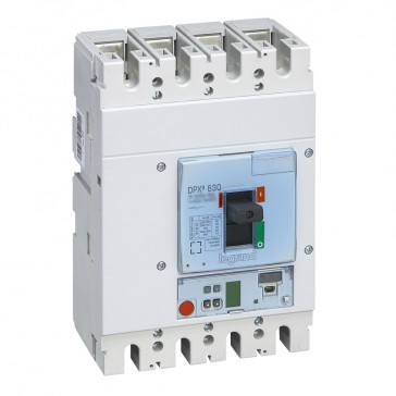 MCCB DPX³ 630 - S2 electronic release - 4P - Icu 36 kA (400 V~) - In 400 A